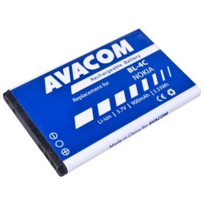 AVACOM baterie do mobilu Nokia 6300 Li-Ion 3,7V 900mAh (náhrada BL-4C)