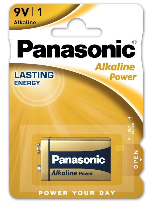 PANASONIC Alkalické baterie - Alkaline Power LR22A 9V, balení - 1ks