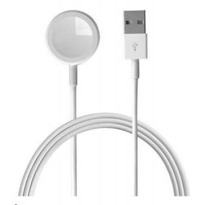 4smarts nabíjecí kabel VoltBeam Mini pro Apple Watch, 2,5W, délka 1m, bílá