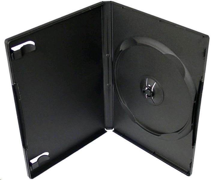 OEM Krabička na 1 DVD 14mm černá (balení 100ks)