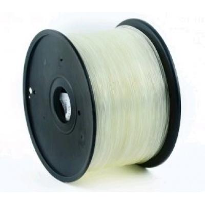 GEMBIRD Tisková struna (filament) ABS, 1,75mm, 1kg, transparent