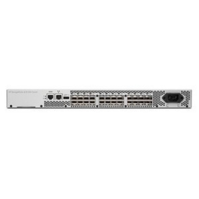 HP 8/8 (8) Full Fabric Ports Enabled SAN Switch