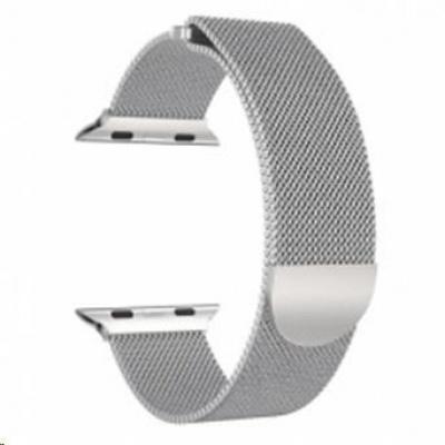 eses milánský tah 42mm stříbrný pro apple watch