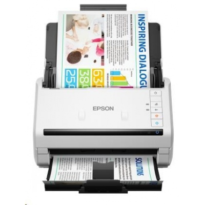 EPSON skener WorkForce DS-770, A4, 600x600 dpi, Duplex, USB 3.0, Ethernet, Energy Star