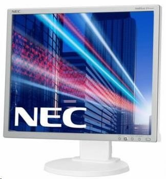"NEC MT 19"" LCD MuSy EA193Mi WH IPS LED,1280x1024/60Hz,6ms,1000:1,250cd,audio,DP+DVI+VGA"