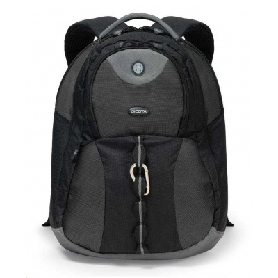 DICOTA Backpack Mission 14-15.6, black