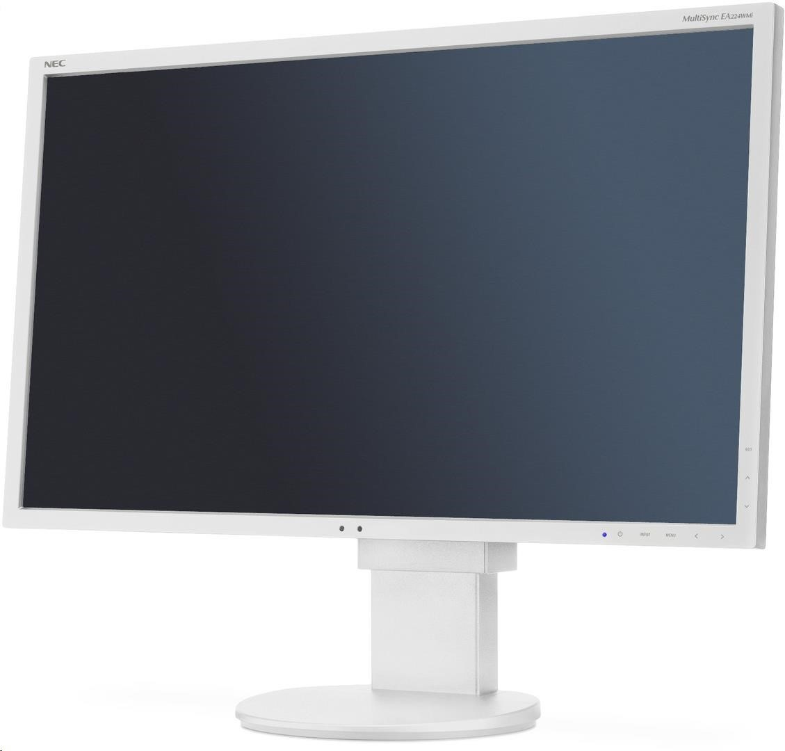 "NEC MT 22"" LCD MuSy EA224WMi White W LED -IPS,1920x1080/60Hz,14ms,1000:1,250cd,DVI-D+DP+HDMI+VGA,audio,USB (1+4)"