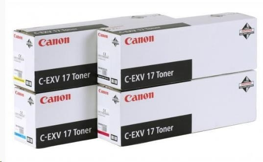 Canon Toner C-EXV 17 Yellow (IRC4580/4080/5185 series)