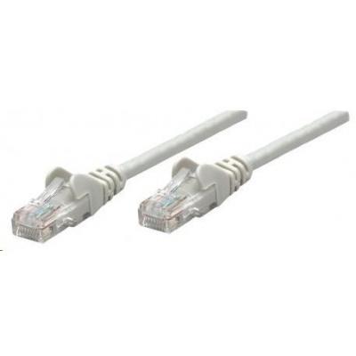 Intellinet patch kabel, Cat6 Certified, CU, UTP, PVC, RJ45, 2m, šedý