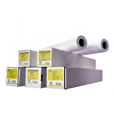 HP Heavyweight Coated Paper-610 mm x 30.5 m (24 in x 100 ft),  35 lb,  130 g/m2, C6029C