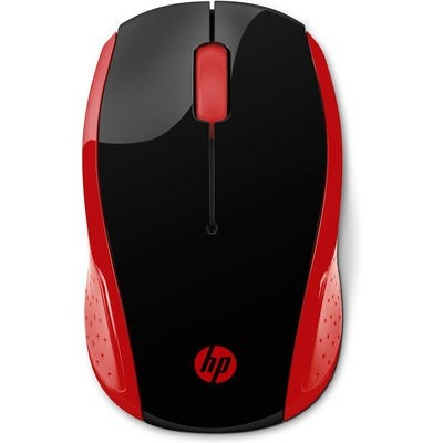 HP 200 Emprs Red Wireless Mouse - MOUSE