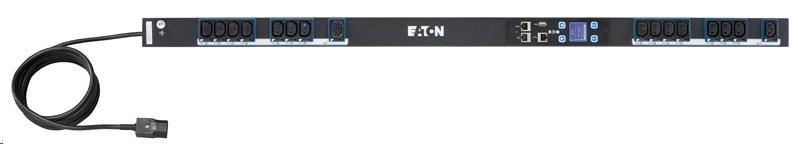 Eaton rozvodný panel ePDU: Řízené IEC, In: C14 10A 1P - Out: 16xC13