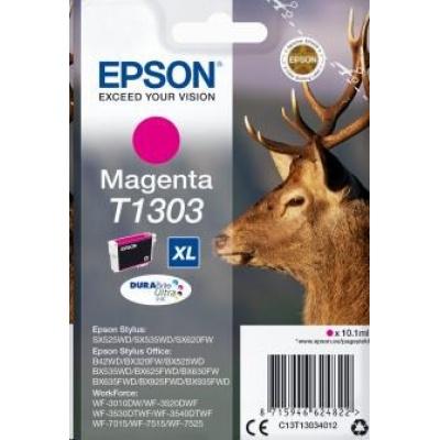 "EPSON ink bar Singlepack ""Jelen"" Magenta T1303 DURABrite Ultra Ink (10,1 ml)"