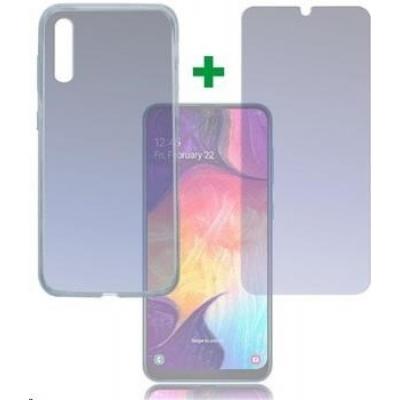 4smarts 360° Premium Protection set (tvrzené sklo a gelový zadní kryt) pro Samsung Galaxy A50