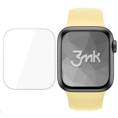 3mk ochranná fólie ARC SE pro Apple Watch 5, 40 mm (4ks)