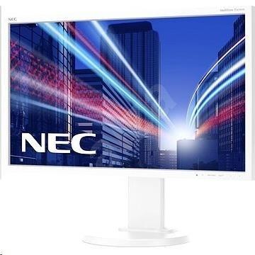 """NEC MT 24"""" LCD MuSy E243WMi White W-LED IPS,1920x1080/60Hz,6ms,1000:1,250cd,audio,DVI-D+DP+VGA,16:9,FullHD"""