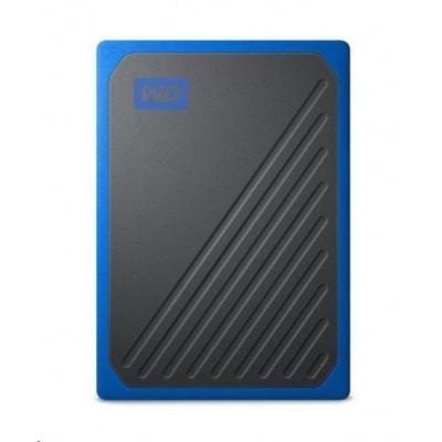 SanDisk WD My Passport Go externí SSD 500GB My Passport Go, USB 3.0 modrá