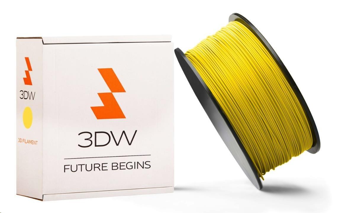PLA 3DW ARMOR filament, průměr 2,9mm, 1Kg, Žlutá