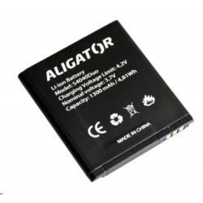 Aligator baterie Li-Ion 1300 mAh pro Aligator S4040 Duo - BULK