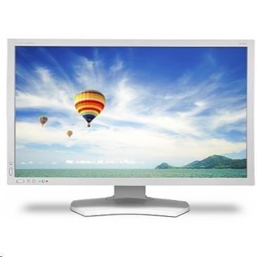 """NEC MT 24"""" LCD MuSy PA242W-SV2 White GB-R LED AH-IPS,1920x1200/60Hz,6ms,1000:1,350cd,DVI+HDMI+VGA+DP,USB(2+3)gam 102%Ad"""