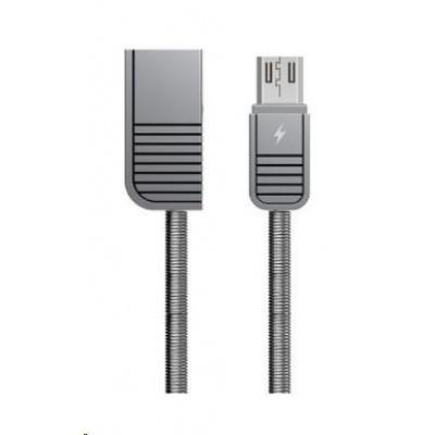 REMAX RC-088m Linyo datový kabel micro USB ,délka 1M stříbrná barva