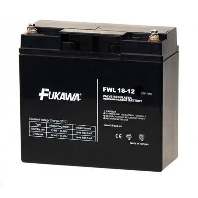 Baterie - FUKAWA FWL 18-12 (12V/18 Ah - M5), životnost 10let
