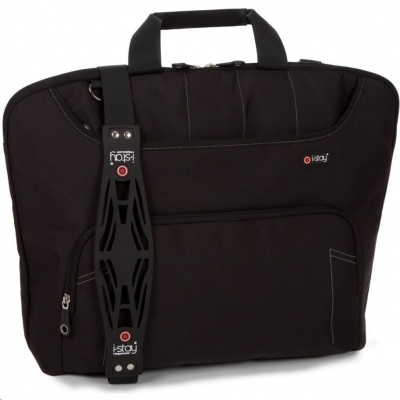 "i-stay Black 15.6"" & Up to 12"" Ladies Laptop / Tablet Bag"