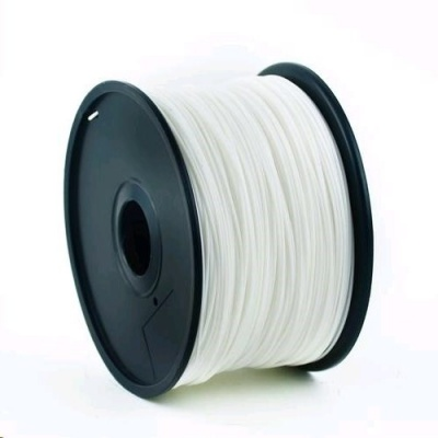 GEMBIRD Tisková struna (filament) ABS, 1,75mm, 1kg, bílá