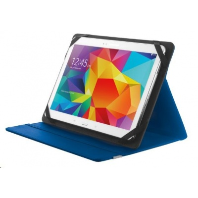 """TRUST Pouzdro na tablet 10"""" Primo Folio Stand for tablets - blue,modré"""