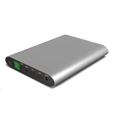 Viking notebooková power banka Smartech II Quick Charge 3.0 40000mAh, šedá