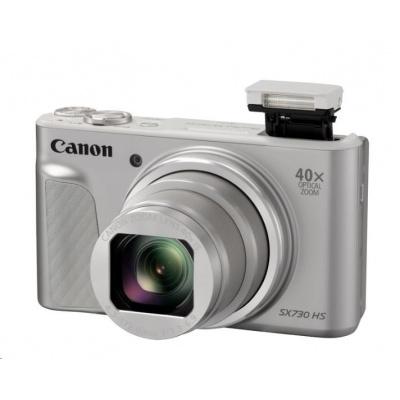Canon PowerShot SX730 HS, 20.3Mpix, 40x zoom - stříbrný
