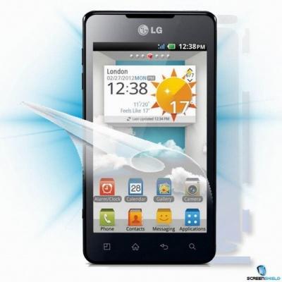 ScreenShield fólie na celé tělo pro LG Optimus 3D Max (P720)