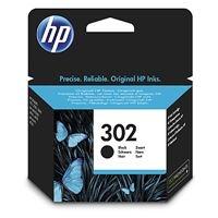 HP 302 Black Original Ink Cartridge, , F6U66AE