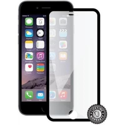 ScreenShield ochrana displeje Tempered Glass pro Apple iPhone 7, černá (kovový okraj)