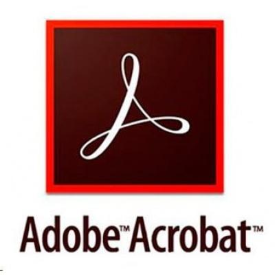 Acrobat Pro DC MP Multi Euro Lang ENTER LIC SUB New 1 User Lvl 1 1-9 Month