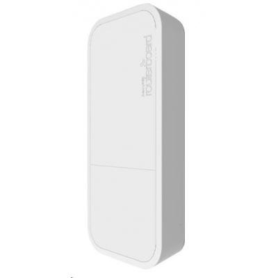 MikroTik wAP ac, white, 720MHz CPU, 64MB RAM, 1x LAN, integr. 2.4+5GHz Wi-Fi, MIMO, 2dBi anténa, vč. L4