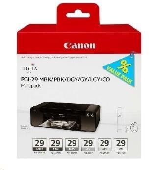 Canon BJ CARTRIDGE PGI-29 MBK/PBK/DGY/GY/LGY/CO Multi