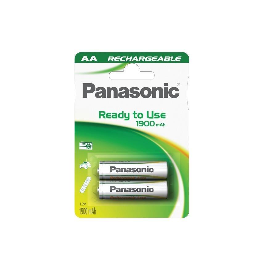 PANASONIC Ready to use - Nabíjecí baterie AA 1900mAh 1,2V balení - 2ks