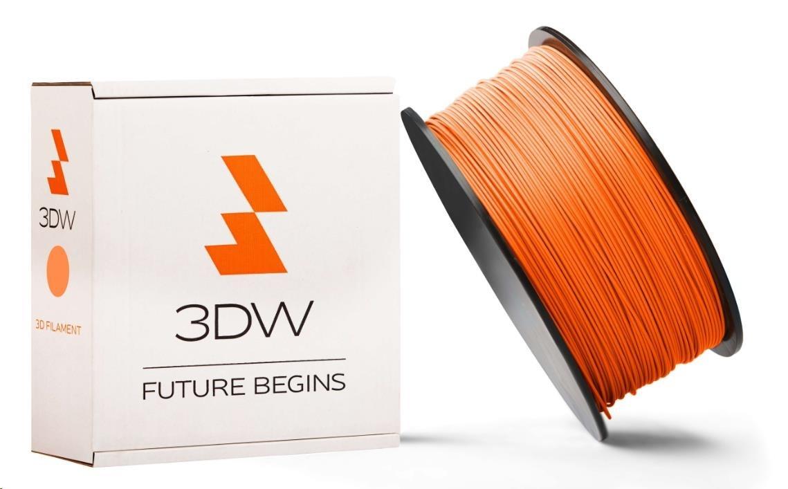 PLA 3DW ARMOR filament, průměr 2,9mm, 1Kg, Oranžová
