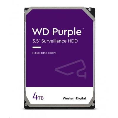 WD PURPLE WD40PURZ 4TB SATA/600 64MB cache, Low Noise