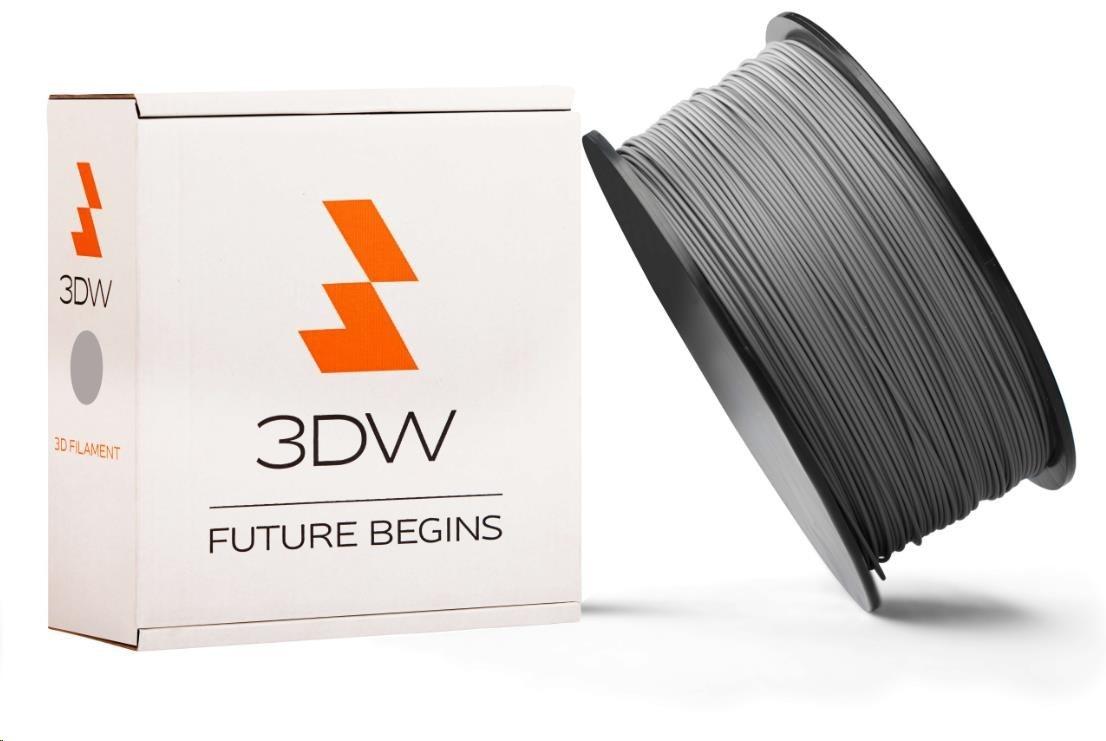 ABS 3DW ARMOR filament, průměr 2,9mm, 1Kg, Stříbrná