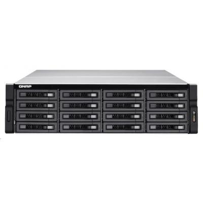 QNAP TVS-EC1680U-SAS-RP-16G-R2 (4C/Xeon E3-1245/3.4GHz/16GBRAM/16xSATA/2xSFP+/4xGbE/4xUSB3.0/4xUSB2.0/2xPCIe/RP)