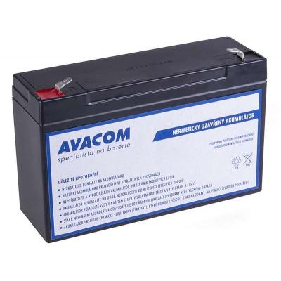 AVACOM Náhradní baterie (olověný akumulátor) 6V 12Ah do vozítka Peg Pérego F1