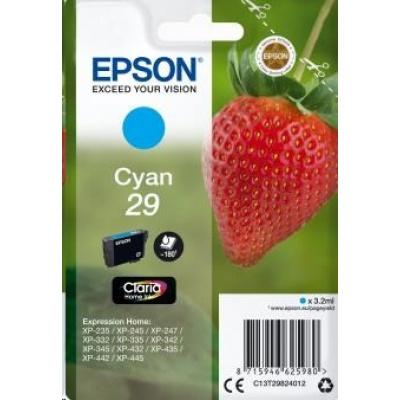 "EPSON ink bar Singlepack ""Jahoda"" Cyan 29 Claria Home Ink"