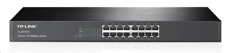 TP-Link TL-SF1016 16x 10/100Mbps Rackmount Switch