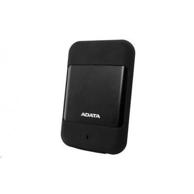 """ADATA Externí HDD 2TB 2,5"""" USB 3.1 DashDrive™ Durable HD700, černá"""