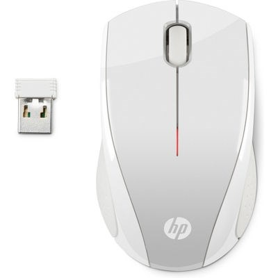 HP X3000 PSilver Wireless Mouse - MOUSE