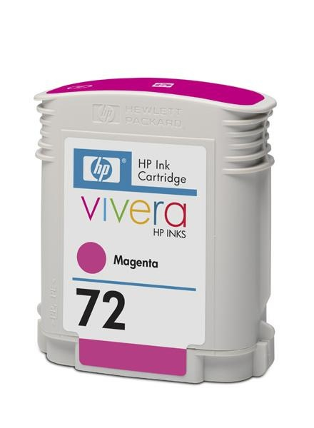 HP 72 Magenta DJ Ink Cart, 69 ml, C9399A