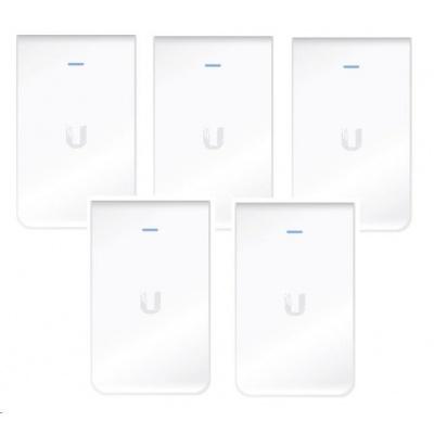 UBNT UniFi AP AC In Wall, 5-PACK [vnitřní AP, 2.4GHz(300Mbps)+5GHz(866Mbps), 2x2 MIMO, 802.11a/b/g/n/ac]