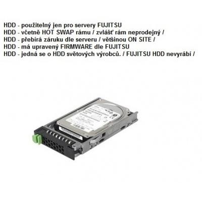 FUJITSU HDD SRV SAS 12G 600GB 10K 512n H-P 2.5' EP - TX1320M2 TX2540M1 RX2520M1 a další
